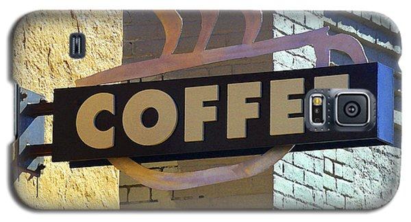 Coffee Shop Galaxy S5 Case