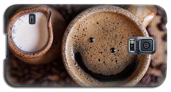 Coffee With A Smile Galaxy S5 Case by Aaron Aldrich