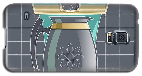 Coffeemaid -aqua Galaxy S5 Case