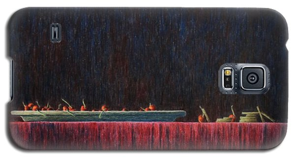 Galaxy S5 Case featuring the painting Coffer by A  Robert Malcom