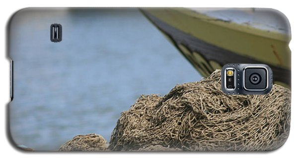 Coiled Fisherman's Net Galaxy S5 Case by Phoenix De Vries
