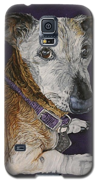 Galaxy S5 Case featuring the painting Colbi by Wendy Shoults