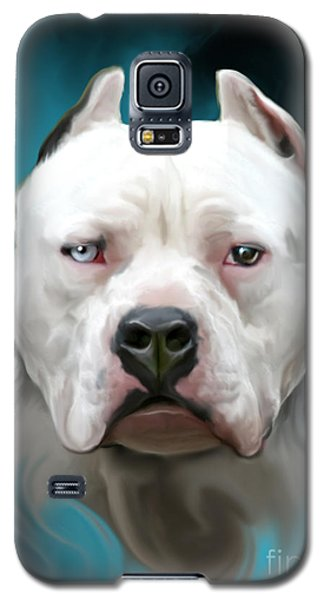 Cold As Ice- Pit Bull By Spano Galaxy S5 Case