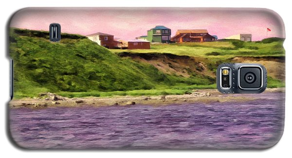 Cold Bay From The Dock Galaxy S5 Case by Michael Pickett