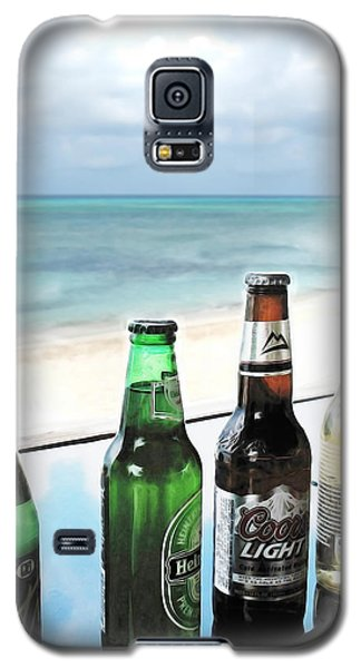 Cold Beers In Paradise Galaxy S5 Case