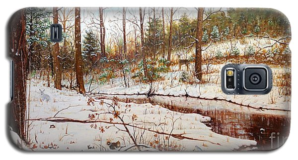 Cold Creek Arkansas Galaxy S5 Case by Mike Ivey