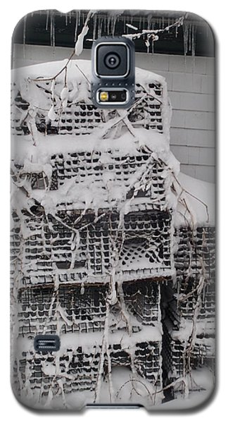 Galaxy S5 Case featuring the photograph Cold Lobster Trap by Robert Nickologianis