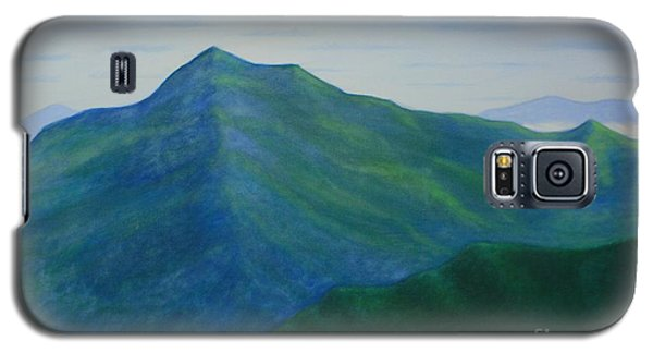 Galaxy S5 Case featuring the painting Cold Mountain by Stacy C Bottoms