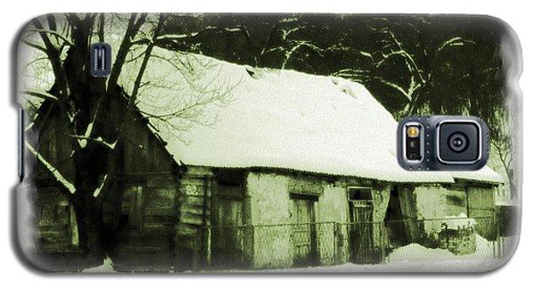 Countryside Winter Scene Galaxy S5 Case by Nina Ficur Feenan