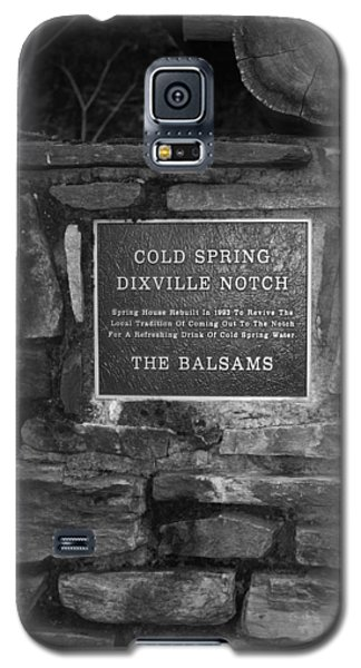 Cold Spring Of Dixville Notch Close-up Galaxy S5 Case by Robin Regan