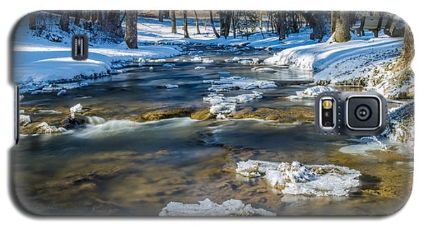 Cold Winter Creek Galaxy S5 Case