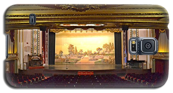 Galaxy S5 Case featuring the photograph Coleman Theatre by Utopia Concepts