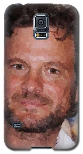 Colin Firth Portrait Galaxy S5 Case