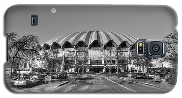 Coliseum B W With Moon Galaxy S5 Case