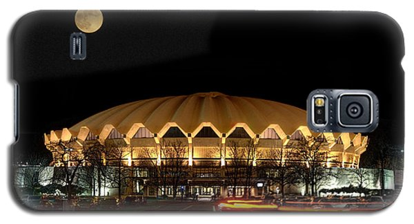 Coliseum Night With Full Moon Galaxy S5 Case