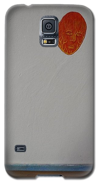 Galaxy S5 Case featuring the painting Collaboration by Steve  Hester