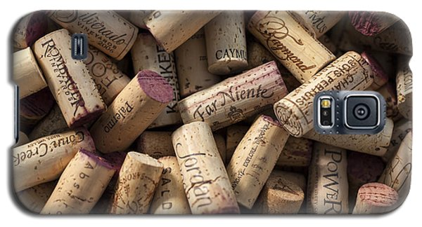 Collection Of Fine Wine Corks Galaxy S5 Case by Adam Romanowicz