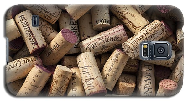 Collection Of Fine Wine Corks Galaxy S5 Case