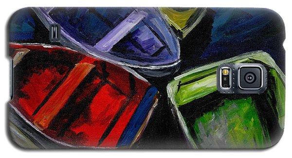 Colliding Skiffs Galaxy S5 Case