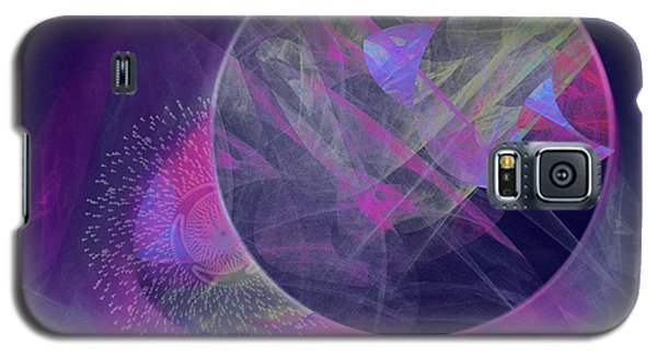 Galaxy S5 Case featuring the digital art Collision by Victoria Harrington