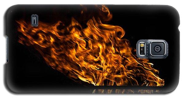 Fire Cresset Galaxy S5 Case