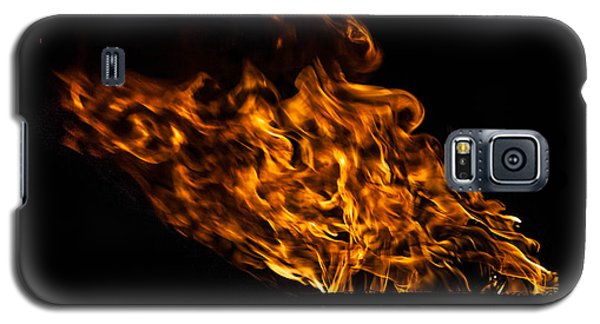 Fire Cresset Galaxy S5 Case