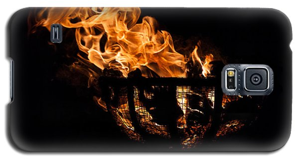 Fire Cresset Two Galaxy S5 Case