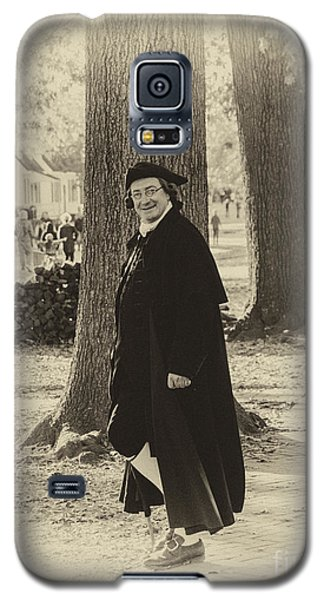 Galaxy S5 Case featuring the photograph Colonial Gentleman I by Terry Rowe