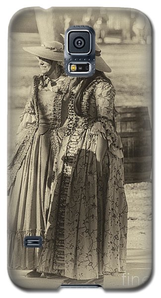 Galaxy S5 Case featuring the photograph Colonial Ladies Iv by Terry Rowe
