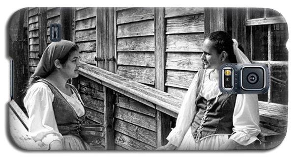 Colonial Spanish Women Galaxy S5 Case