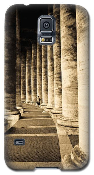 Colonnade In Piazza San Pietro Vatican Galaxy S5 Case