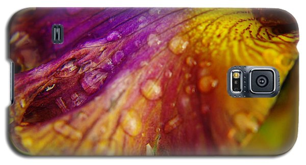 Color And Droplets Galaxy S5 Case by Jeff Swan
