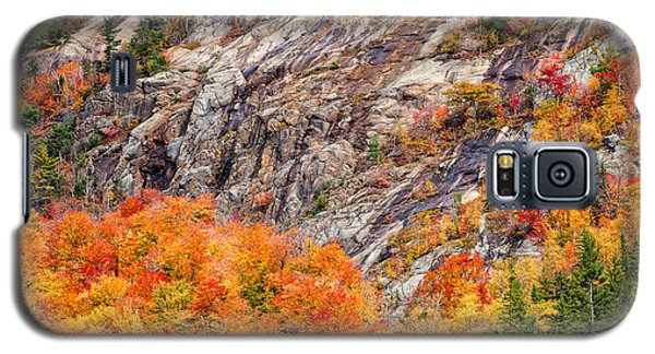 Color And Granite In Crawford Notch Galaxy S5 Case