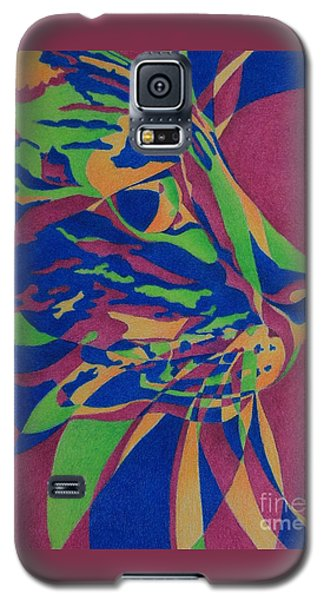 Color Cat I Galaxy S5 Case by Pamela Clements