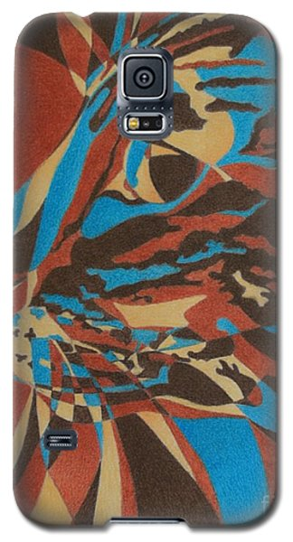 Color Cat II Galaxy S5 Case by Pamela Clements