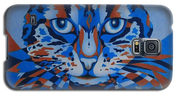 Color Cat IIi Galaxy S5 Case by Pamela Clements