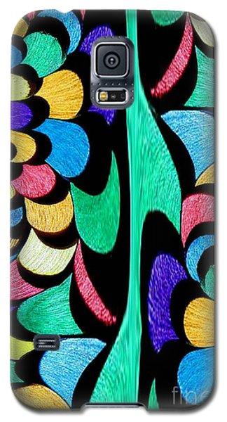 Galaxy S5 Case featuring the digital art Color Dance by Rafael Salazar