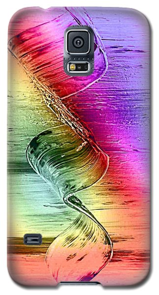 Galaxy S5 Case featuring the digital art Color-dream by Nico Bielow