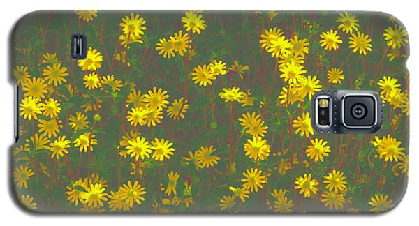 Color Flower Wall Galaxy S5 Case