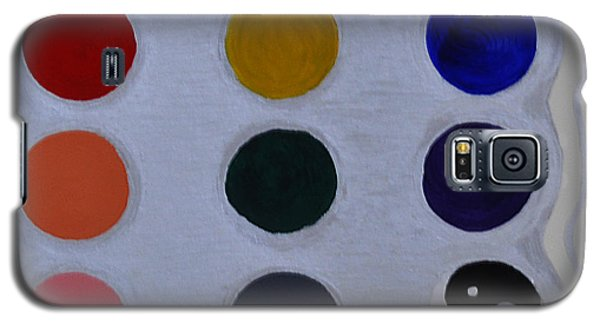 Color From The Series The Elements And Principles Of Art Galaxy S5 Case by Verana Stark