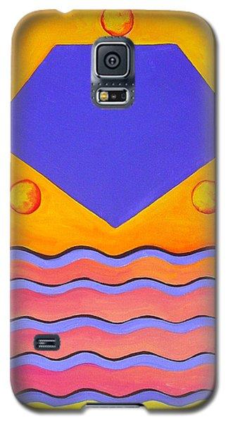Color Geometry - Pentagon Galaxy S5 Case