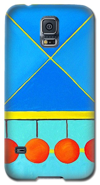 Color Geometry - Square Galaxy S5 Case by Carolyn Goodridge