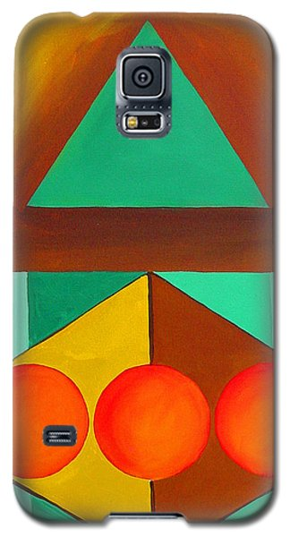 Color Geometry - Triangle Galaxy S5 Case