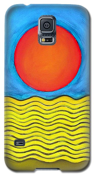 Color Geometry - Whole Galaxy S5 Case by Carolyn Goodridge