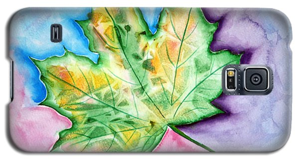Color Leaf Galaxy S5 Case