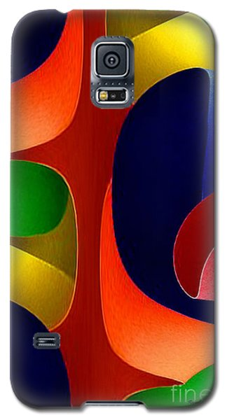 Galaxy S5 Case featuring the digital art Color Maze by Rafael Salazar
