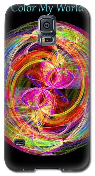 Color My World Galaxy S5 Case
