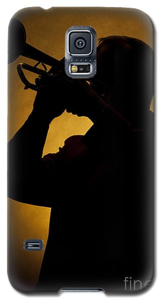 Color Silhouette Of Trumpet Player 3019.02 Galaxy S5 Case