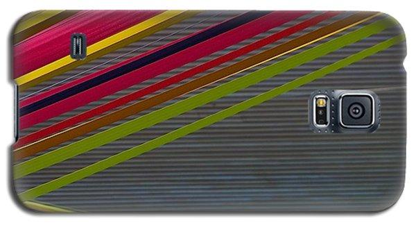 Color Strips Galaxy S5 Case by Stuart Litoff