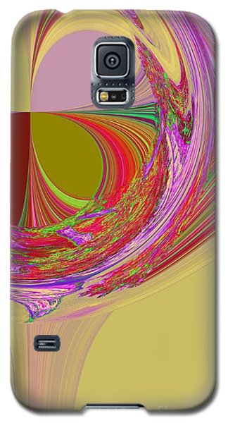 Color Symphony Galaxy S5 Case by Loredana Messina